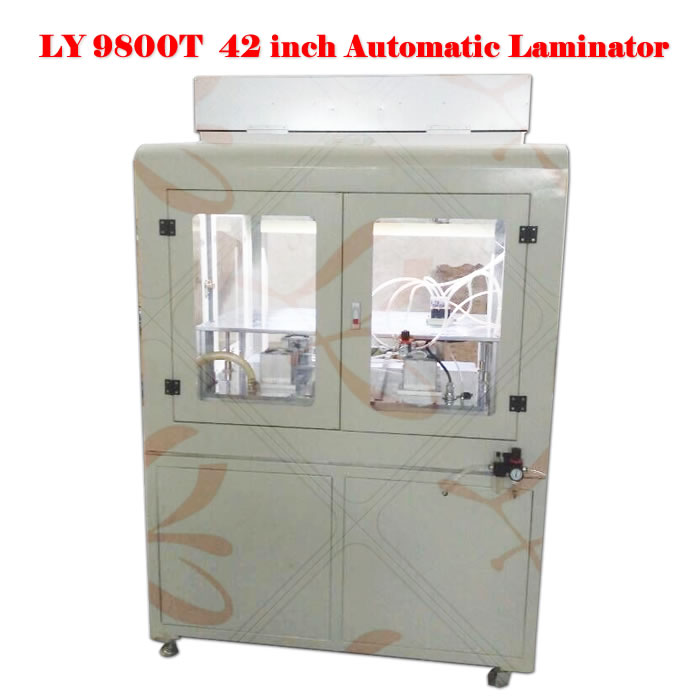Automatic OCA vacuum laminator machine 9800T for 42 inch for factory use