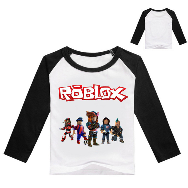 3 16Years 2017 Bobo Choses Shirt Roblox Tshirt Tollder Birthday Kids Legoes Shirts Baby Boy Long Sleeve Tops XIN588