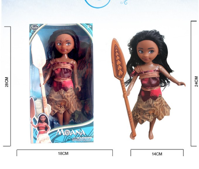 Movie Moana princess dolls action figure toys 2017 New Original Moana action figurine Oyuncak for kid party supply decor gift jakks pacific movie grab ems 3 figure smurfette toys gift new