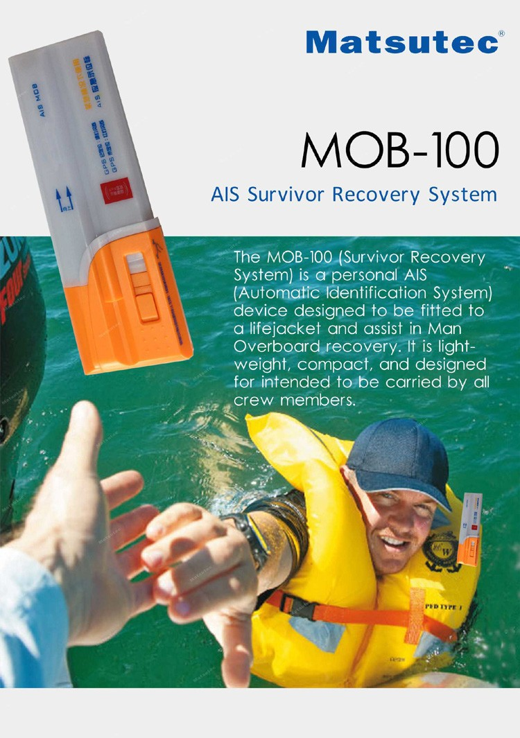 device for life jacket AIS MOB Man Overboard