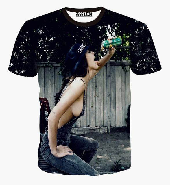 Sexy print t shirts