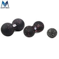 EPP Massage Ball Peanut Back Trigger Point Therapy Sports Gym Release Excise Full Body Sports Crossfit