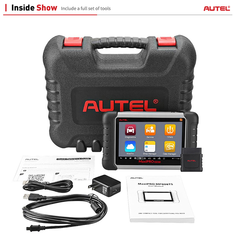 Image 5 - Autel MaxiPRO MP808TS OBDII Car Automotive Diagnostic Tool OBD2 Scanner OBD 2 Code Reader as DS808 Add TPMS Functions PK MS906-in Engine Analyzer from Automobiles & Motorcycles