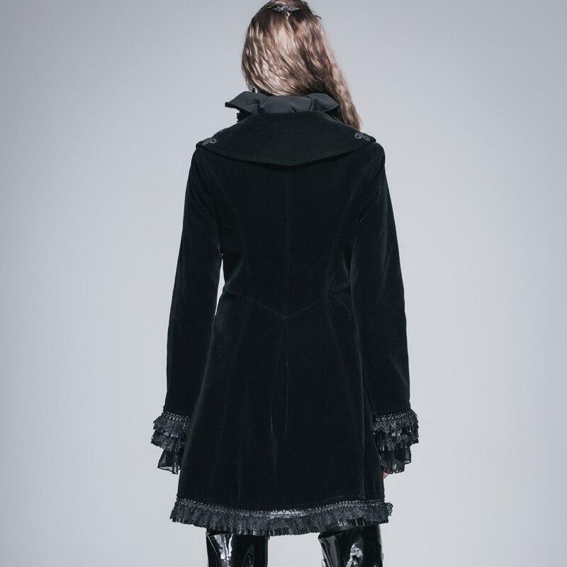 Veshja e gjatë e modës djallëzore e modës djallëzore për femra - Veshje për femra - Foto 6