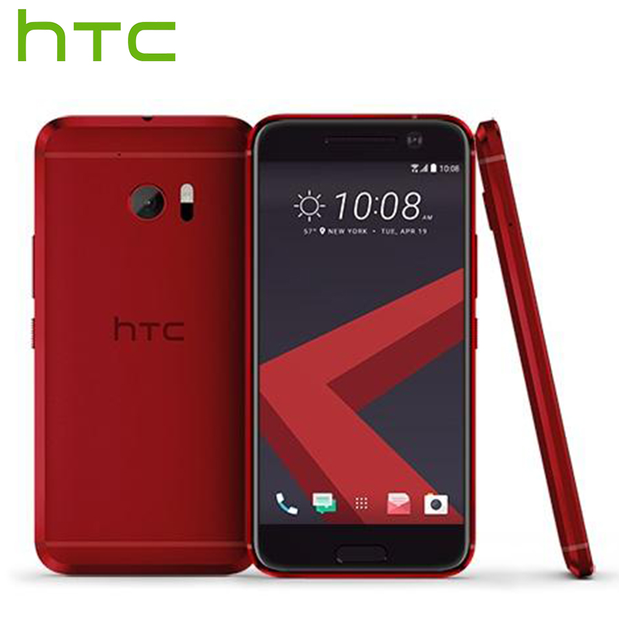 "EU Version HTC 10 4G LTE Android Mobile Phone 5.2"" 4GB RAM 32GB ROM Snapdragon Quad Core 12MP Camera NFC Smart Fingerprint Phone"
