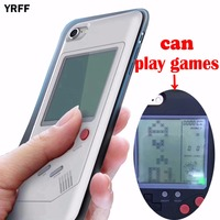 YRFF Newest High Quality Real Can Play Games Mobile Phone Cases Cover For Iphone 7 Plus