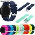 22mm deportes de la correa correas de reloj de silicona para samsung galaxy gear s3 clásico sm-r770 s3 frontera sm-r760 sm-r765 smart watch