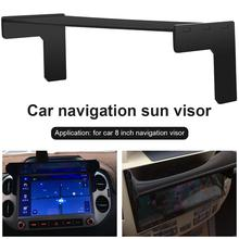 New DIY 8inch Car GPS Screen Sunshade Black GPS Sunshade For 8 Inch Navigation Accessories Automatic DVD / GPS Easy To Install цена