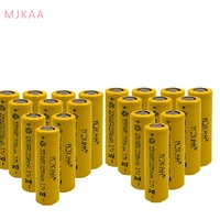 High Quality Icr18650 Lithium Yellow 2200mah 3.7 V Li ion Rechargeable Flat Top Batteries