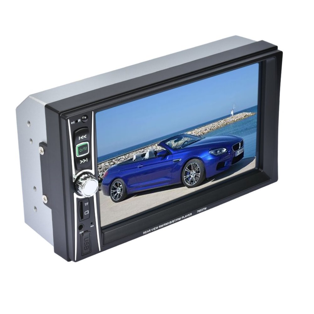 2017NEW Professional Touch Screen Car Radio Mp5 Player Bluetooth Mp5 Audio 1080P Movie Support Rear View Camera 2 Din Car Audio car radio 7 inch lcd touch screen car radio player bluetooth hands free movie rear view camera 2 din audio stereo mp5