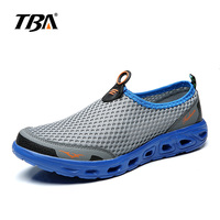 2019 TBA Man large size walking shoes Men's breathable sports mesh shoes light couple Lightweight Sneakers running shoes