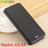 Redmi 4X Case Flip Cover 5 0 Xiaomi Redmi 4A Leather Funda Back Soft Silicone Coque