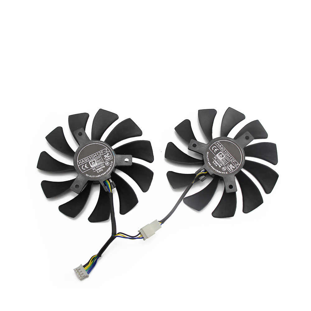 85 Mm HA9010H12F-Z GPU Kartu Cooler Fan untuk MSI GeForce GTX1660 GTX 1660Ti RTX 2060 Ventus X C Kartu Grafis kipas Angin