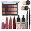 Makup Tool Kit Including Matte Eyeshadow Lipstick Foundation Concealer Eyebrow Pencil Eyeliner Makeup Set Cosmetic Kit
