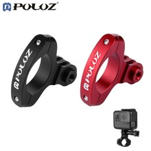 PULUZ O Shape Cycling Bike Mount  Bicycle Clip Holder Action Camera Handlebar Seat Post Mount Clamp For GoPro XIAOYI