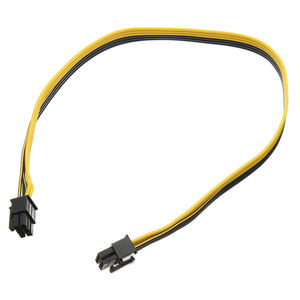 Image 3 - En labs PCIe 6pin mâle à mâle PCI E câble dalimentation pour GPU alimentation adaptateur de carte de rupture pour Ethereum Mining ETH ZEC