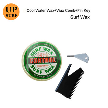 fcc8bdfba Cera de Surf agua cera + cera de surf comb + Fin clave buena calidad cera
