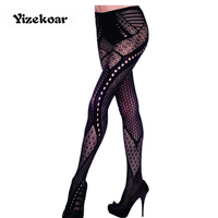 Multi Pattern Tight Pantyhose LC79551 Erotic Lingerie Sex Products Women Female Stockings Fashion Thin Pantyhose