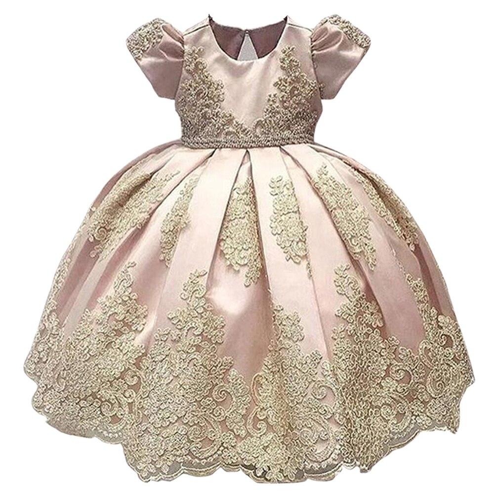 Offre spéciale bébé longue ivoire robe de baptême dentelle nouvelle anniversaire bébé robe bébé fille robes de baptême robes de baptême