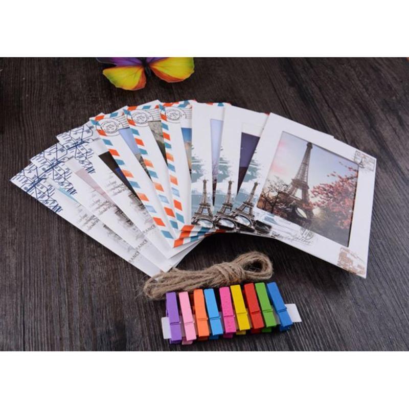 9 Stücke 6 Zoll DIY Wand Hängen Papier fotorahmen Album kreatives ...