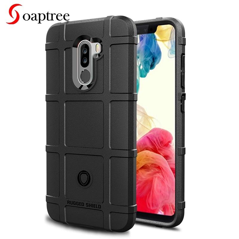 7360f643e82 Soaptree para Xiaomi Pocophone F1 casos para Xiaomi Poco F1 6,18 pulgadas  de silicona resistente escudo cubre carcasa bolsa conchas