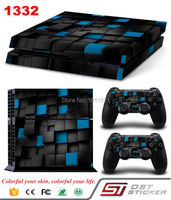 OSTSTICKER Protective Vinly Decal Wrap For PS4 Playstation 4 Console Skin Stickers 2Pcs Controller Skin
