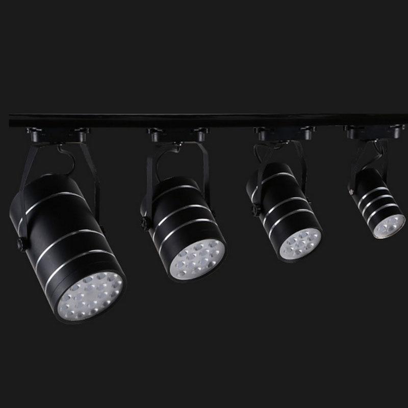 Commercial Art Gallery Led Track Lighting Rail 12w Spotlight