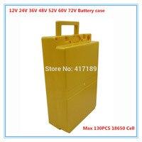 5pcs wholesale 60V 48V 36V 24V 12V Electric bike battery pack case lithium ion battery storage box for PVC Li ion battery