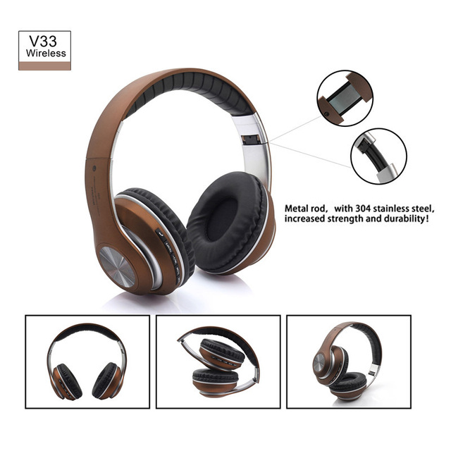 sports shoes 1baf2 e3d9b US $20.99  Active Noise Cancelling Wireless Bluetooth Headphones wireless  Headset with microphone For iPhone 7 7Plus 6 6 Plus -in Bluetooth Earphones  ...