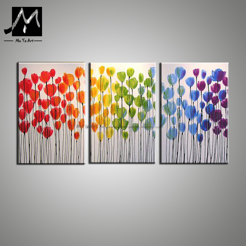 Decorative Pictures Modern Paintings Kitchen Wall Painting Flower Canvas Art  Handmade Acrylic Oil Paintings For Living Room Wall In Painting U0026  Calligraphy ...