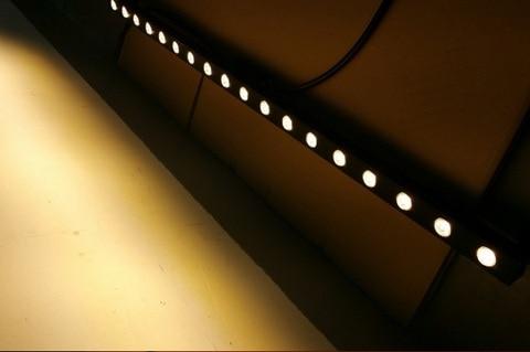 10 pcs lote 24vdc 18 w 3000lm cree xpe led luzes da arruela da parede