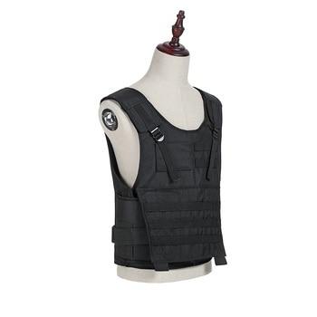 Bulletproof Vest Aramid nij iii iia iv 7.62mm Military Army Tactical Body-Armor-Bullet-Proof-600D Oxford Waterproof Wear Vest 1