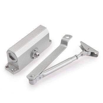 Automatic door closers security system 25-35KG Aluminium Adjustable Closing/Latching Speed