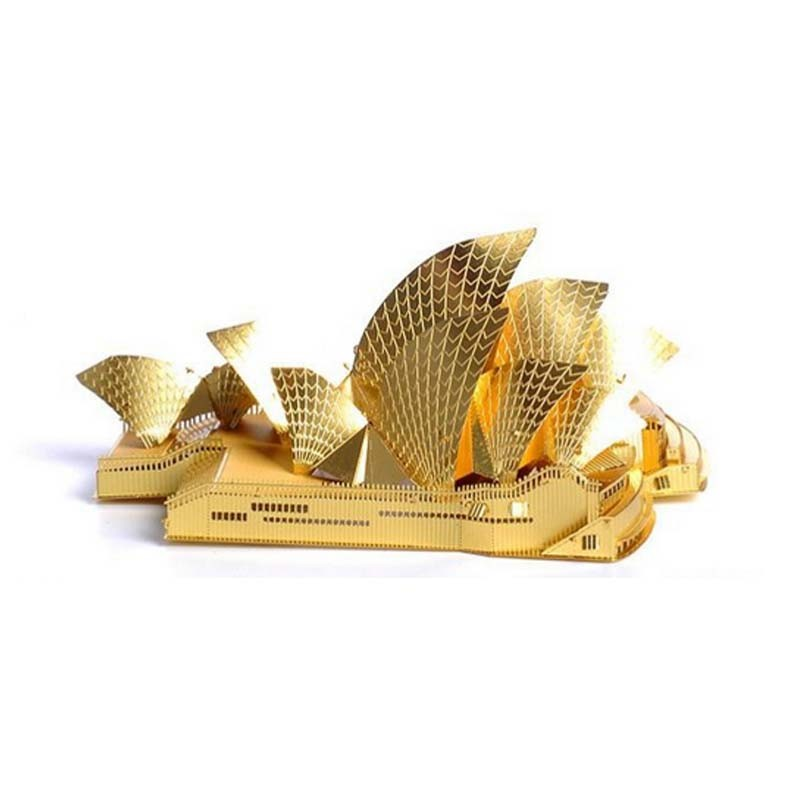 3D-Gold-Sydney-Opera-House-Metal--Puzzle-DIY-Architecture-Assembled-Model-Building-Kid-Educational-Gifts-Interested-Toy-TK0110 (2)