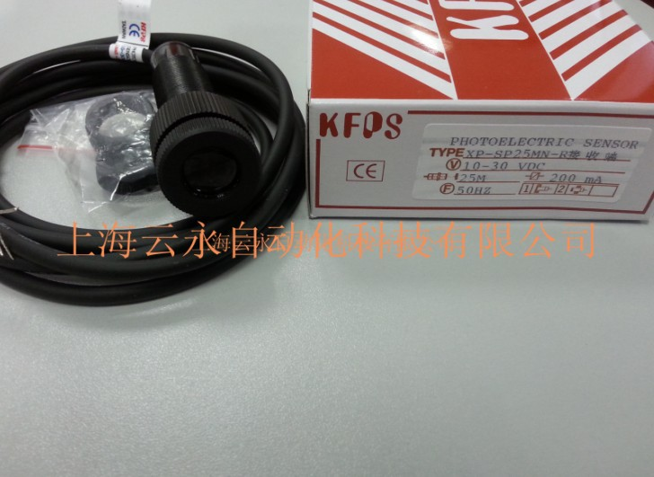 new original XP-SP25MN-R  Taiwan  kai fang KFPS photoelectric sensor new original xp sr200e4 taiwan kai fang kfps photoelectric sensor