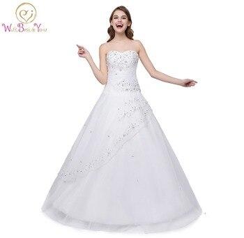 c8e5b437f Dulce 16 vestidos blanco vestidos de quinceañera balón vestido de novia  chica Quinceanera del vestido bordado con cuentas encaje de nuevo Stock