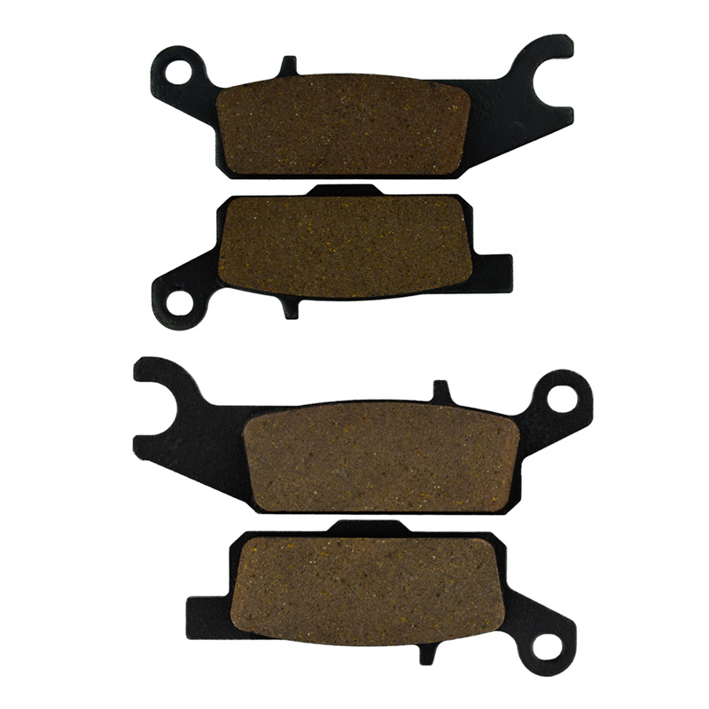 Motorcycle Left & Right Front Brake Pads For YFM 250 <font><b>RX</b></font>/RY Raptor 08-09 YFM <font><b>550</b></font> Grizzly FGHY/FGPY 09-10 YFM 700 07-10 image