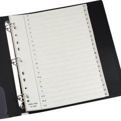 Hfyp IX900 сортировки карты классифицировать Binder Индекс делители бумажные карты 11 отверстия 26 Английский алфавит 21 листов/сумки папки вложения