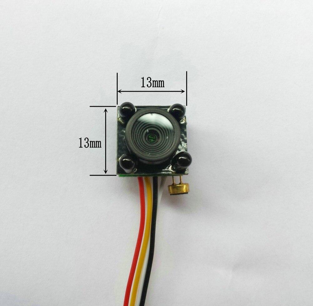 imágenes para Nueva 700TVL HD Más Pequeño Mini bricolaje Analógica módulo 4 IR Versión de La Noche de Luz LED de video Vigilancia cctv cámara de Seguridad Inicio cámara