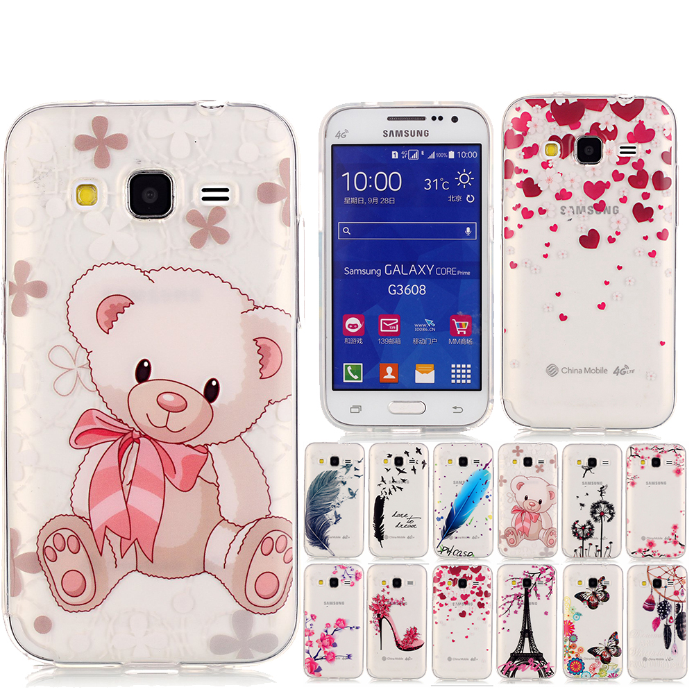 cellphone case for coque samsung core prime silicone tpu. Black Bedroom Furniture Sets. Home Design Ideas