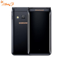 New Original Samsung Galaxy Folder 2 G1650 Dual SIM 16GB ROM 2GB RAM Quad Core 8.0MP 3.8 Flip SmartPhone 4G LTE Mobile Phone