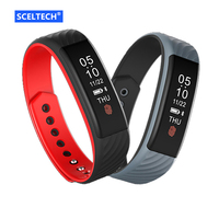 SCELTECH Smart Bracelet W810 Pedometer Band Heart Rate Monitor Sports Tracking Touch Smartband For IPhone Android