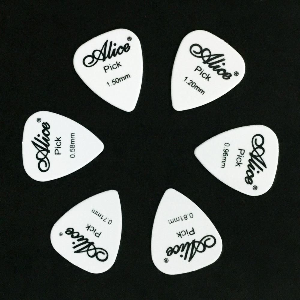 6 piese chitara Alice cu 1 culoare grosime completa 0,58 0,71 0,81 - Instrumente muzicale - Fotografie 6