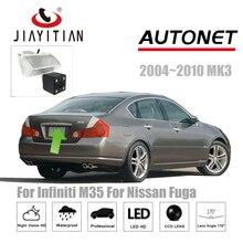 JIAYITIAN rear view camera For Infiniti M35 For Nissan Fuga 2004 2010CCD Night Vision Reverse Camera