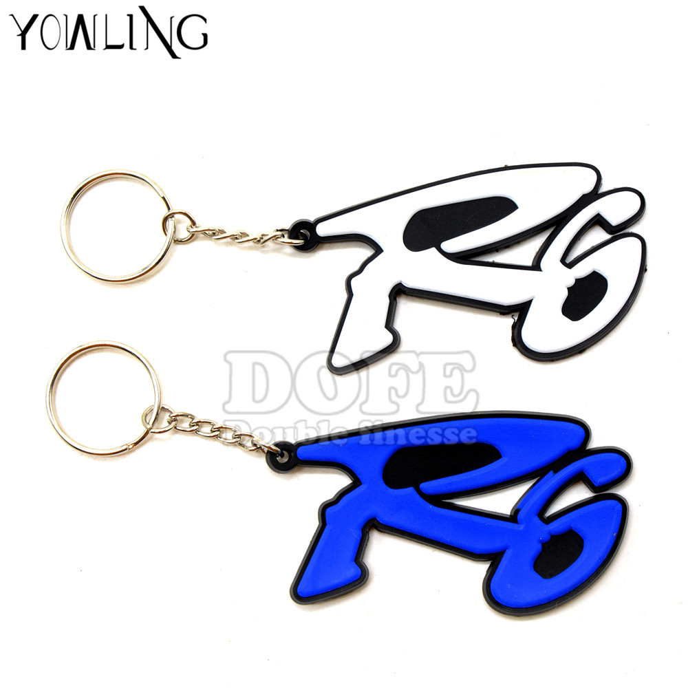 3 Colors New Hot Selling Gift Key Chain Motorcycle Accessories Motorcycle Key Chain 3D Key Ring For Yamaha R6