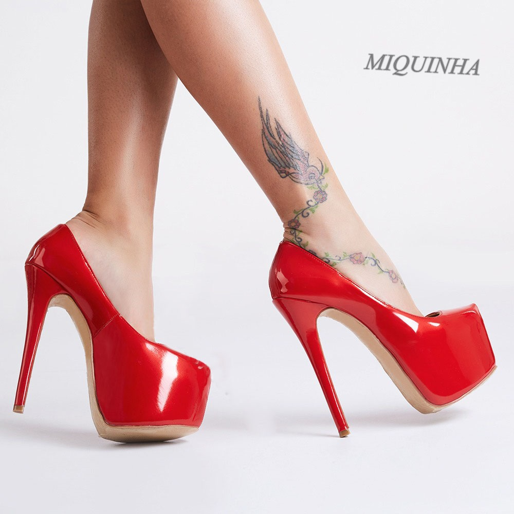 Popular Red Patent Pumps-Buy Cheap Red Patent Pumps lots from ...