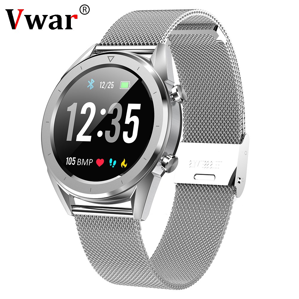 2019 Vwar T28 ECG PPG Smart Watch IP68 Waterproof Sport Watches blood pressure heart rate monitor