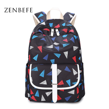 Backpack Polyester School New