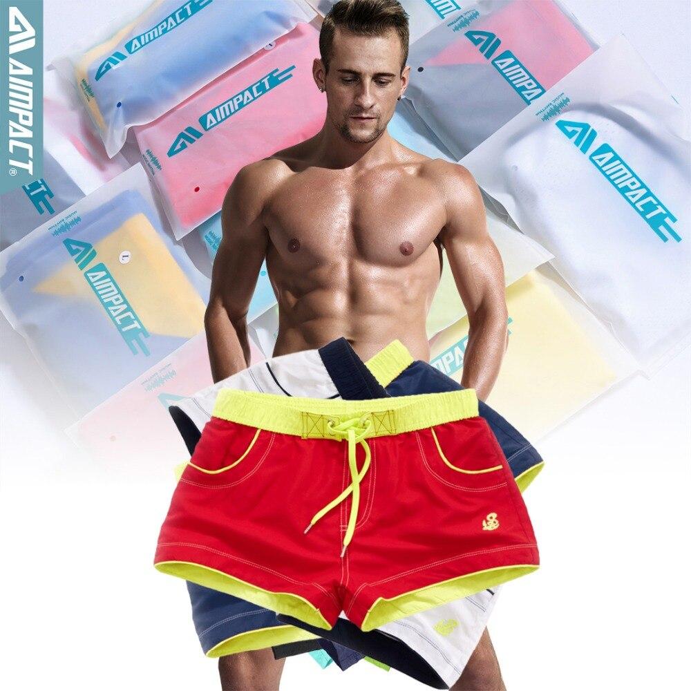 Aimpact-2Pcs-Lot-Quick-Drying-Men\'s-Board-Shorts-Sexy-Beachsurf-Men\'s-Jogger-Short-Fashion-Sexy-Home-Shorts-for-Men-Trunks-2PF55-386444
