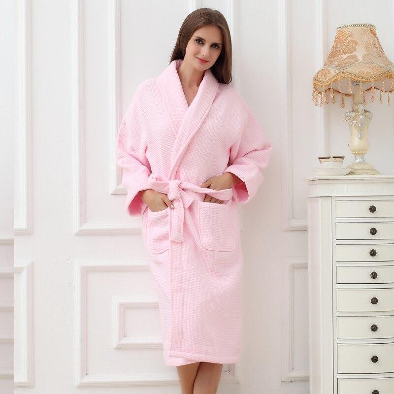 Winter Bathrobe Women Thick Cotton Bridesmaid Robe Women bathrobe Long Bath Robes Warm Kimono bathrobes Bride Sleepwear Gowns